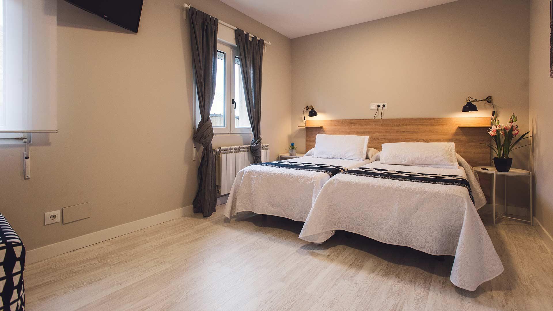 apartamentos river santander cama dormitorio